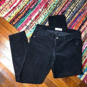 Old Navy Dark Grey Corduroy Pants